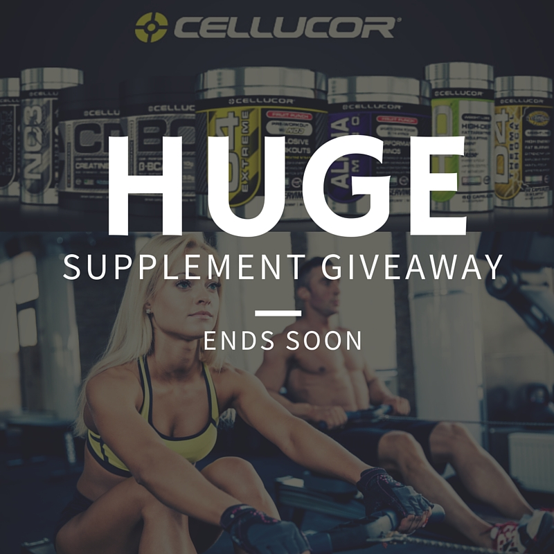 Cellucor Giveaway Img