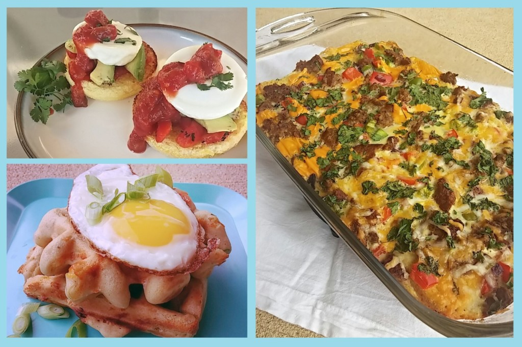 Savory Breakfast Ideas with Glutino- From The Healthy Home Cook