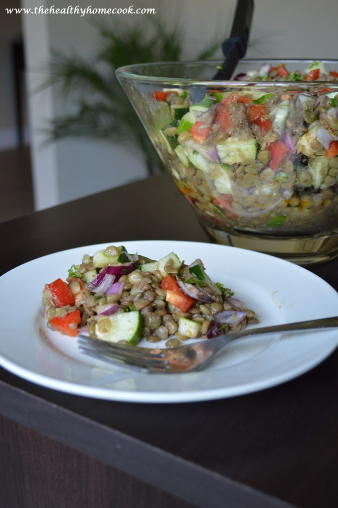 If you haven't tried lentils before, then my Cold Lentil Salad is a great recipe to start with.