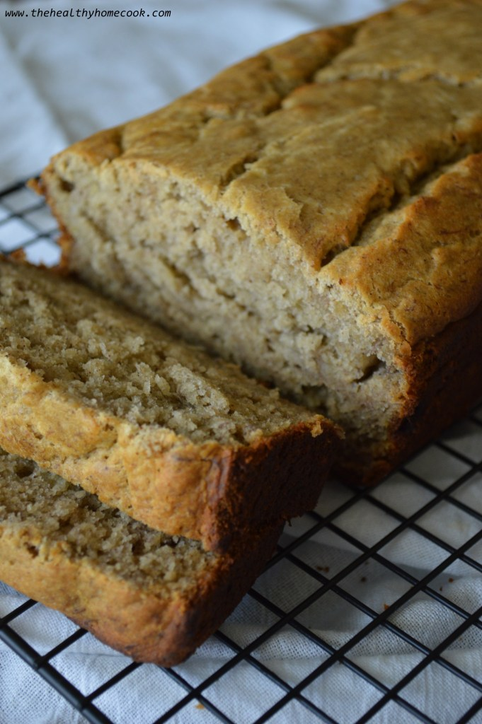 This Gluten Free Skinny Banana Bread is a deliciously moist and healthy version of the classic bread that everyone will love.