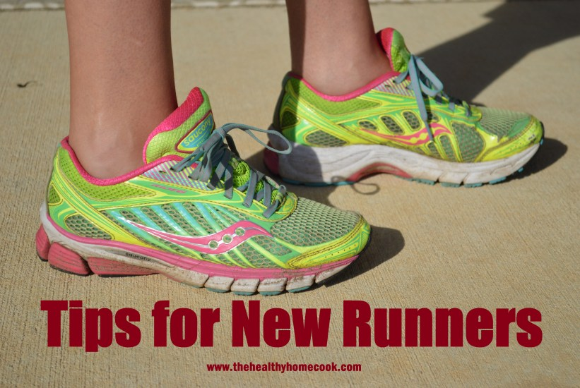 New to running? Check out these tips from The Healthy Home Cook