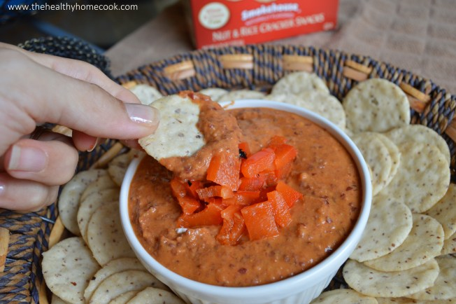 Perfectly creamy, smokey, and just a little bit spicy! This dip is so addicting, EVERYONE will want the recipe.