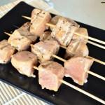 Grilled Tuna Skewers