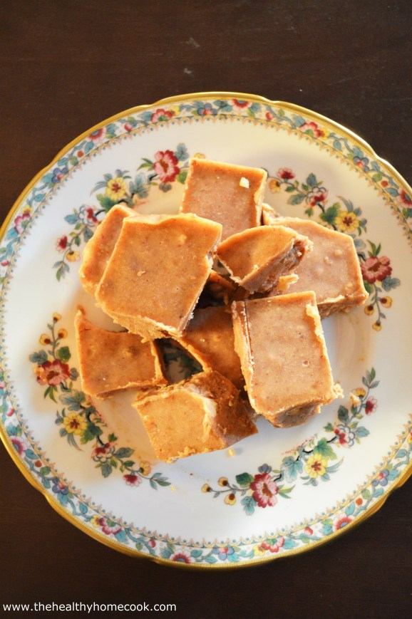 This Freezer Maple Almond Fudge is the easiest way to enjoy fudge, next to buying a pre-made box, of course.