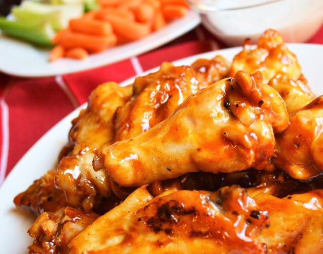 Grilled Guiltless Buffalo Wings- These wings are juicy, spicy, and perfect for your big game day party.