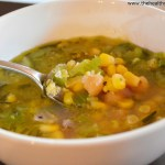 Sweet Corn Rosemary Soup