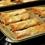 Black Rice & Vegetable Taquitos