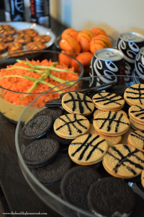 Don't just enjoy the madness but taste the madness with these great Slam Dunk Basketball Snacks.