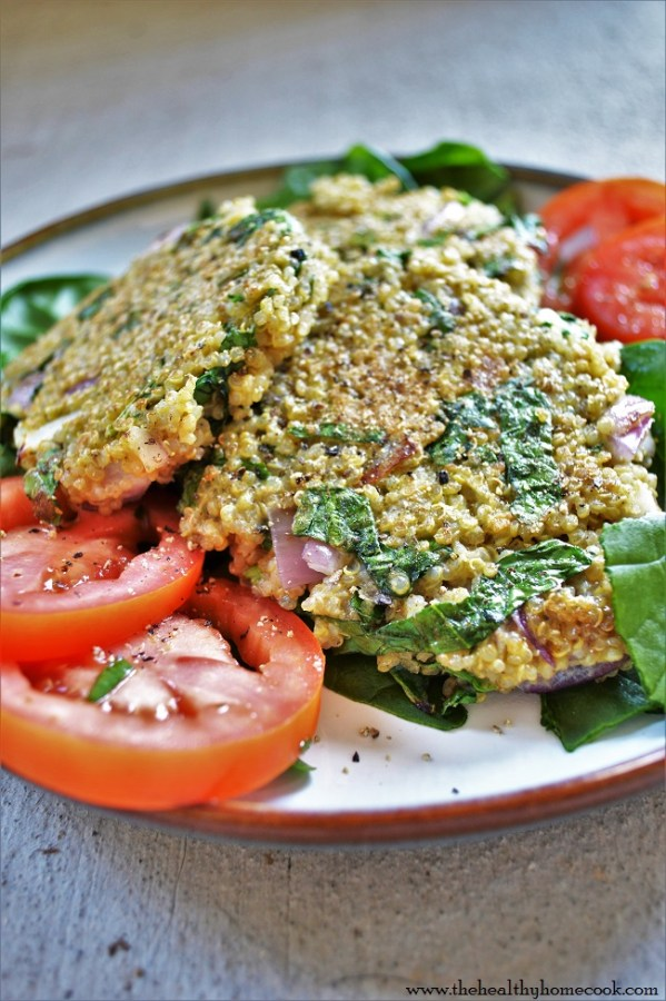 Spend less time worrying about what to cook for dinner and make these simple, healthy Spinach Quinoa Cakes. They are delicious, budget friendly, and family friendly.