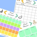 Fitness Planning + Free Printables