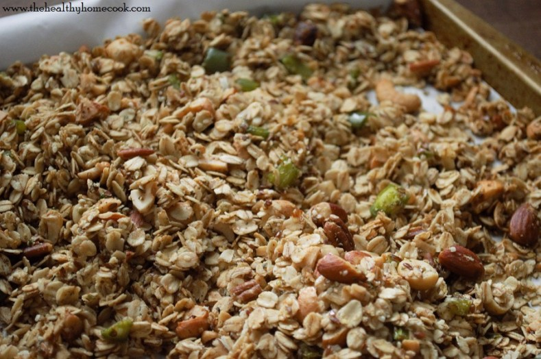 Wake up your senses with this spicy, yet sweet, Jalapeno Granola.