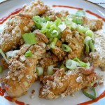 Honey Mustard Sesame Chicken Fingers + Giveaway