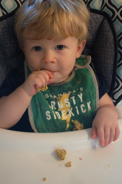 These Veggie Nuggets are the perfect finger food for kids just learning to feed themselves.