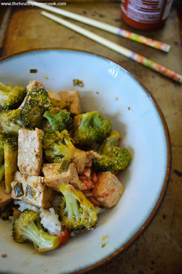This Broccoli & Tofu Stir Fry is a just what you've been looking for