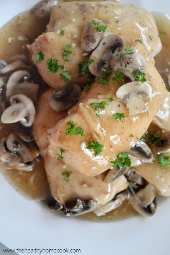 Warm and delicious this Slow Cooker Chicken Marsala comes out perfect every time.