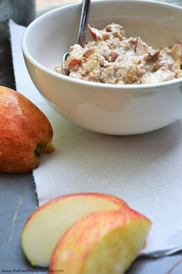 Don't let apple season pass you by before making my Apple Pie Overnight Oats.