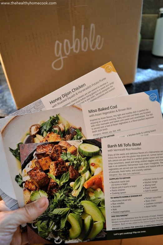 The Healthy Home Cook review of Gobble Box meal subscription.
