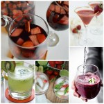 Skinny Party Drinks {Cocktails & Mocktails}