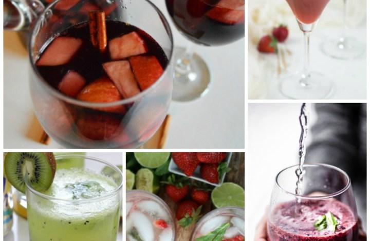 Skinny Party Drinks {Cocktails & Mocktails}