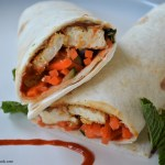 Crispy Thai Tofu Wrap