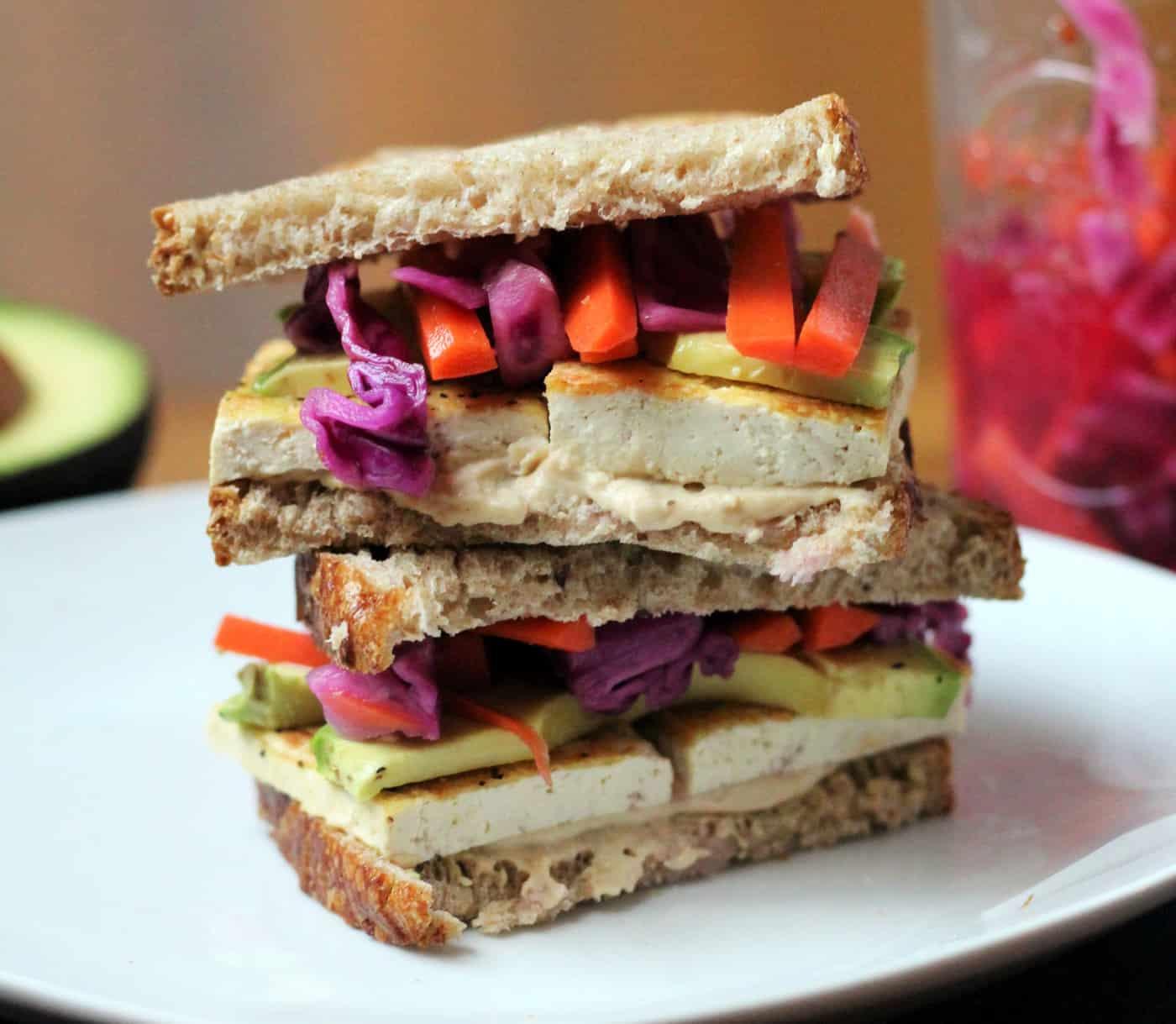 California Dreaming Veggie Sandwich (Vegan)