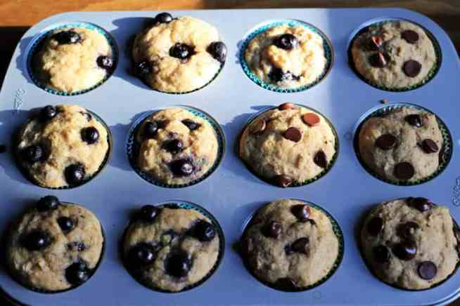 Tray of Muffins
