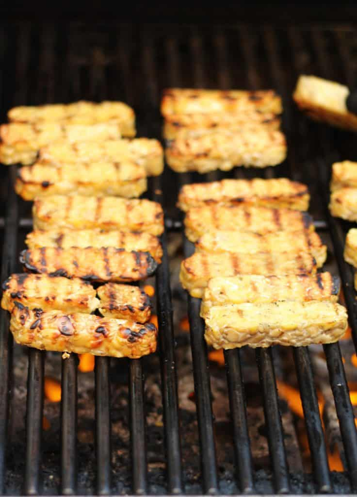 Tempeh grilled