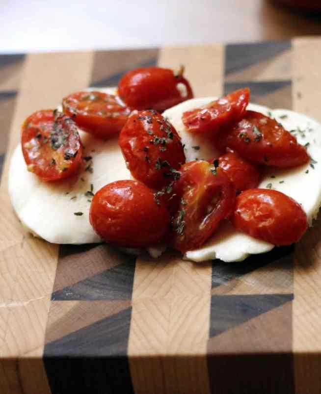 Tomatoes and mozzarella 2
