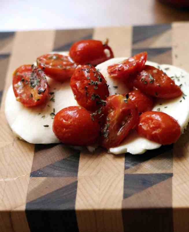 Tomatoes and mozzarella 2