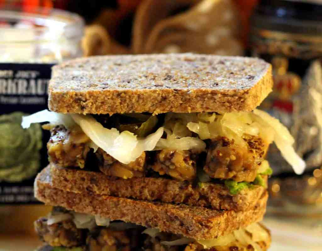 Oktoberfest tempeh sandwich the healthy toast oktoberfest tempeh sandwich forumfinder Choice Image