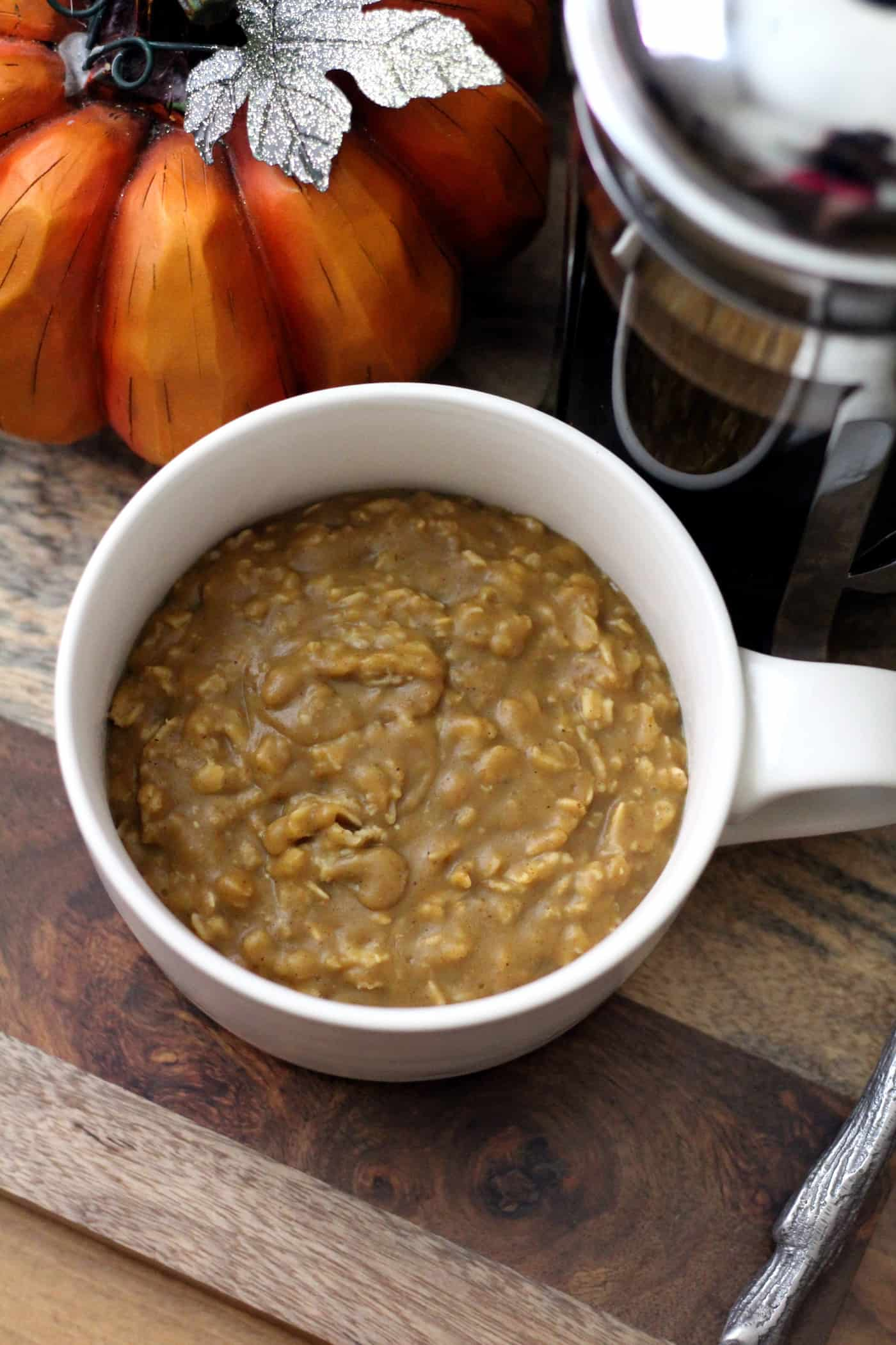 Pumpkin Spice Latte Oats