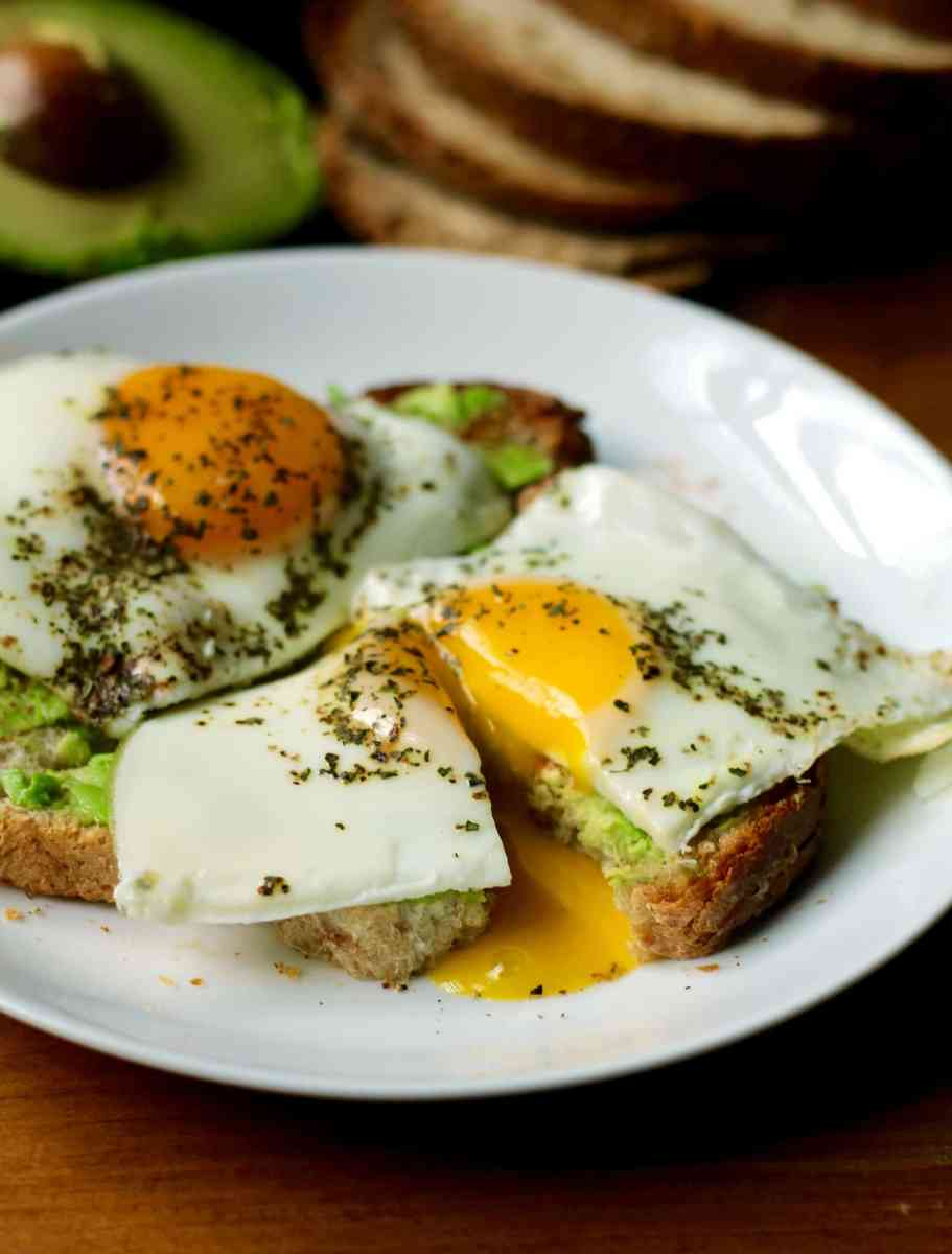 Simple Basted Eggs