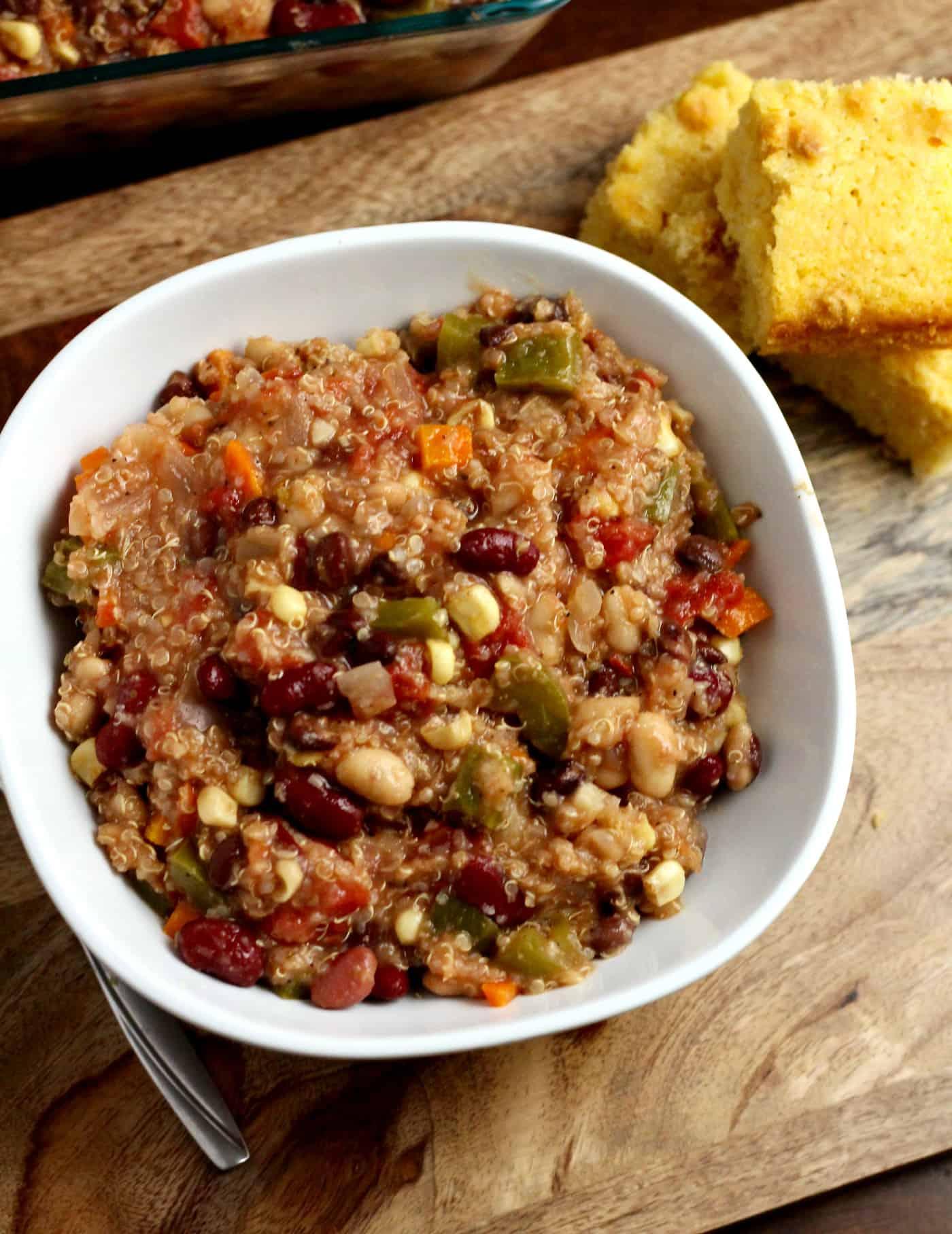 Crockpot Quinoa Chili