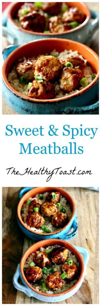 Sweet and Spicy Turkey Meatballs