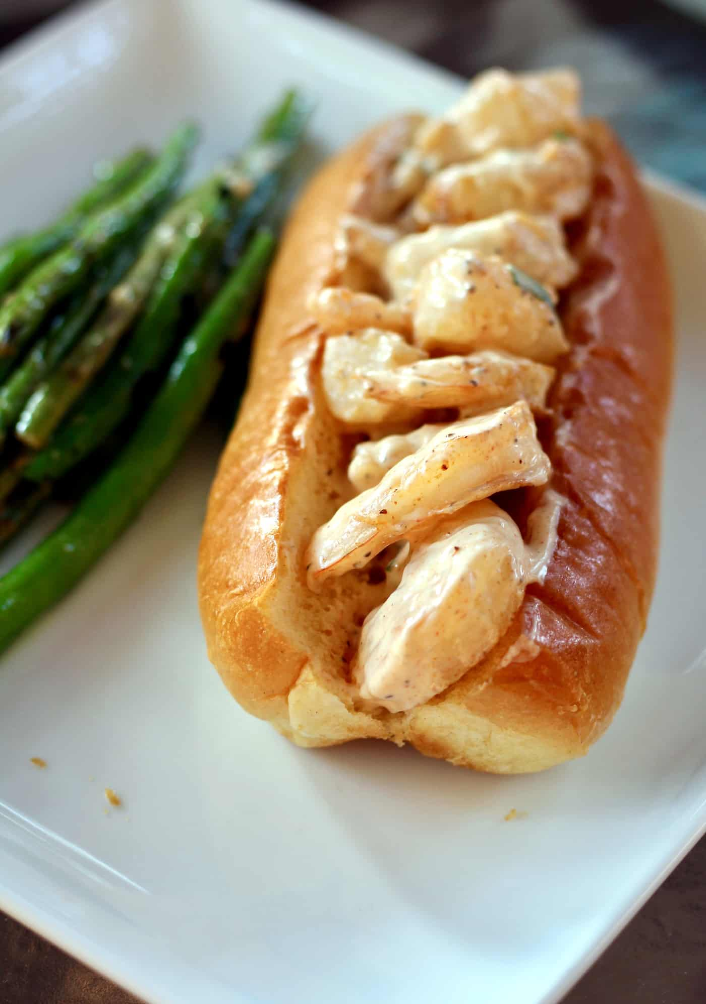 Healthy New England-Style Shrimp Roll Recipe