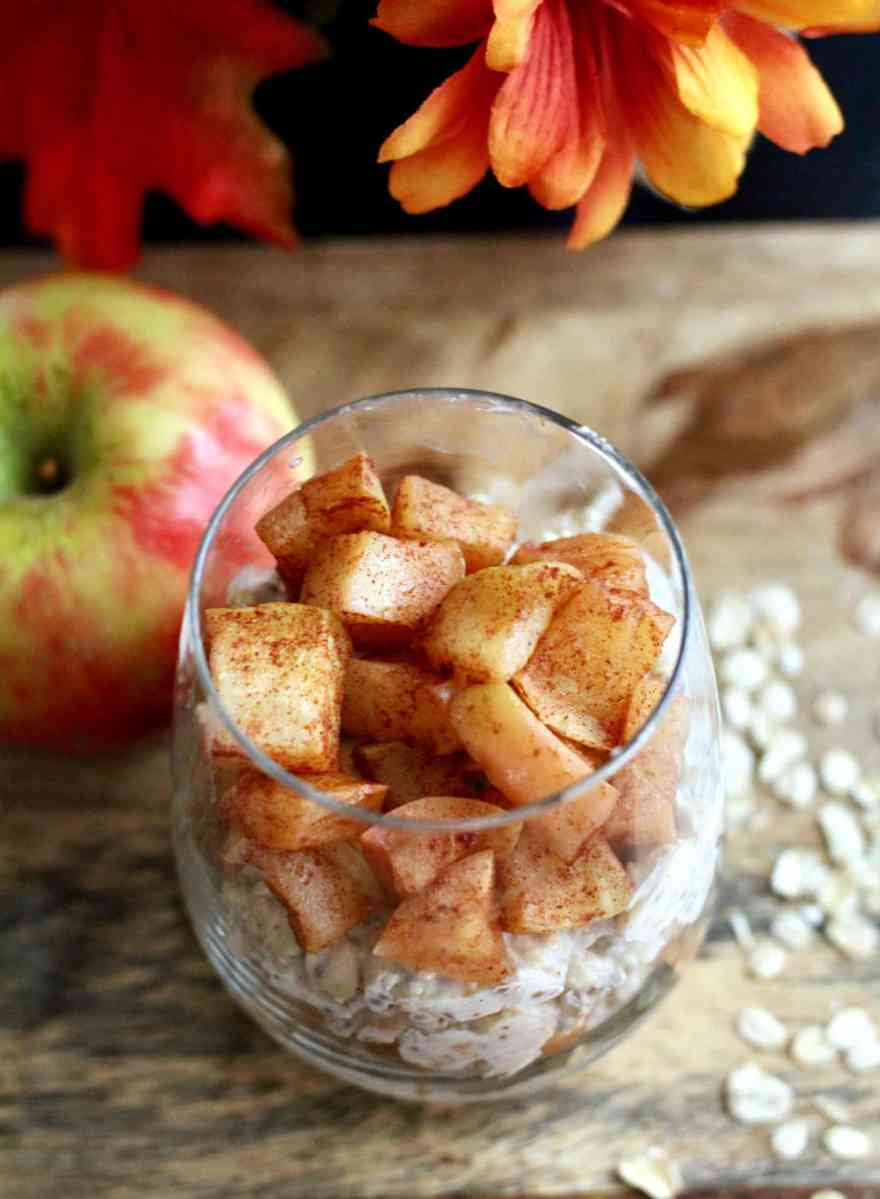 Baked Apple Overnight Oats