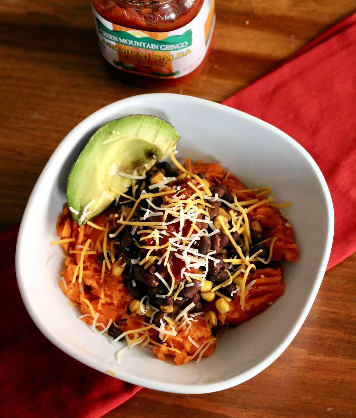 Vegetarian Mexican Sweet Potato Bowls