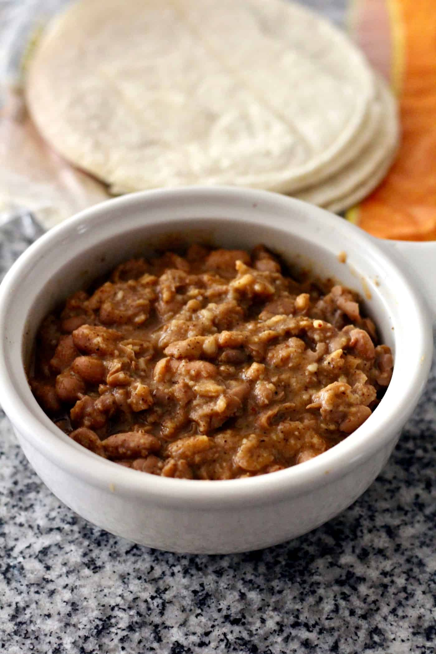 "Healthy ""Refried"" Beans"