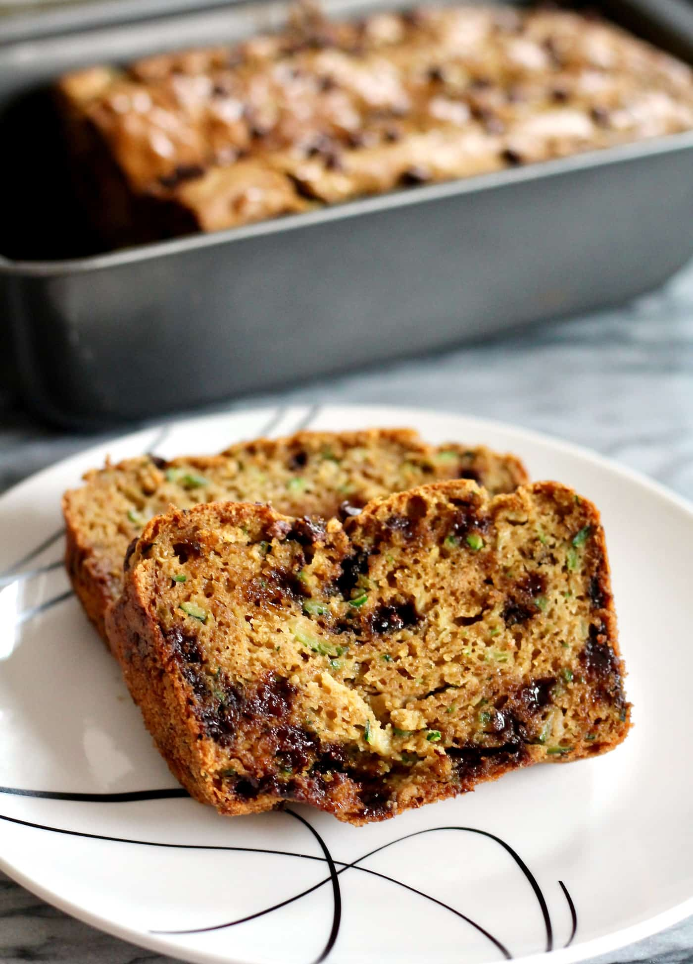 High-Protein Zucchini Bread