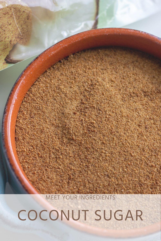 Meet Your Ingredients: Coconut Sugar