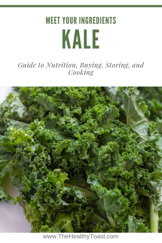 Kale pinterest graphic