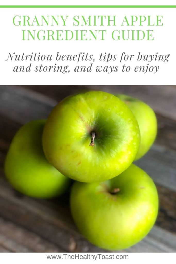 Granny smith apple ingredient guide pin