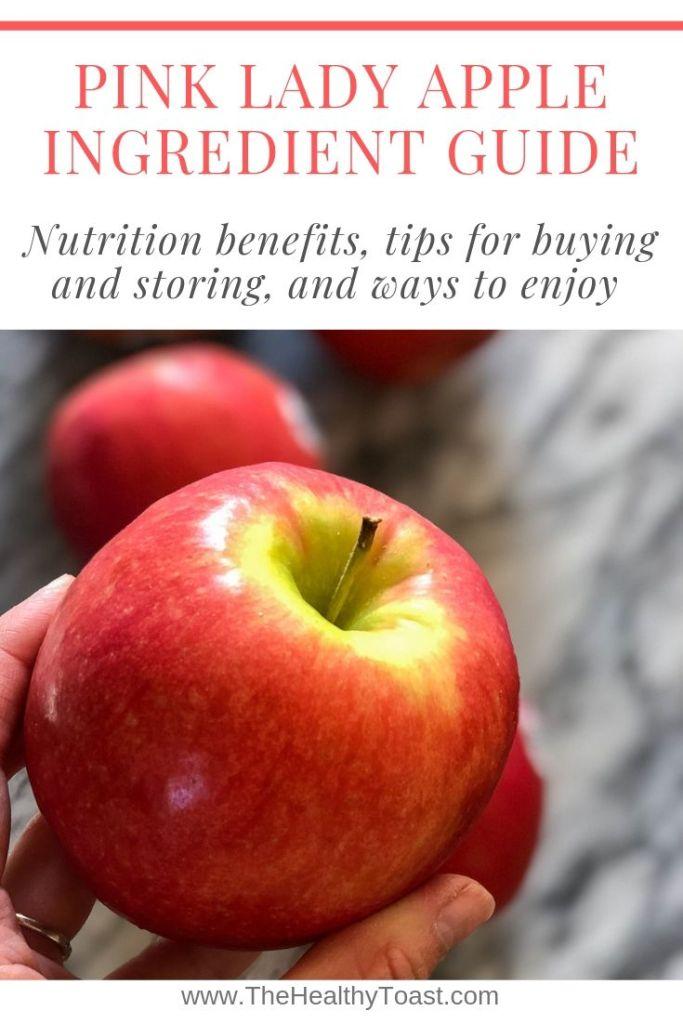 Pink lady apple ingredient guide pin
