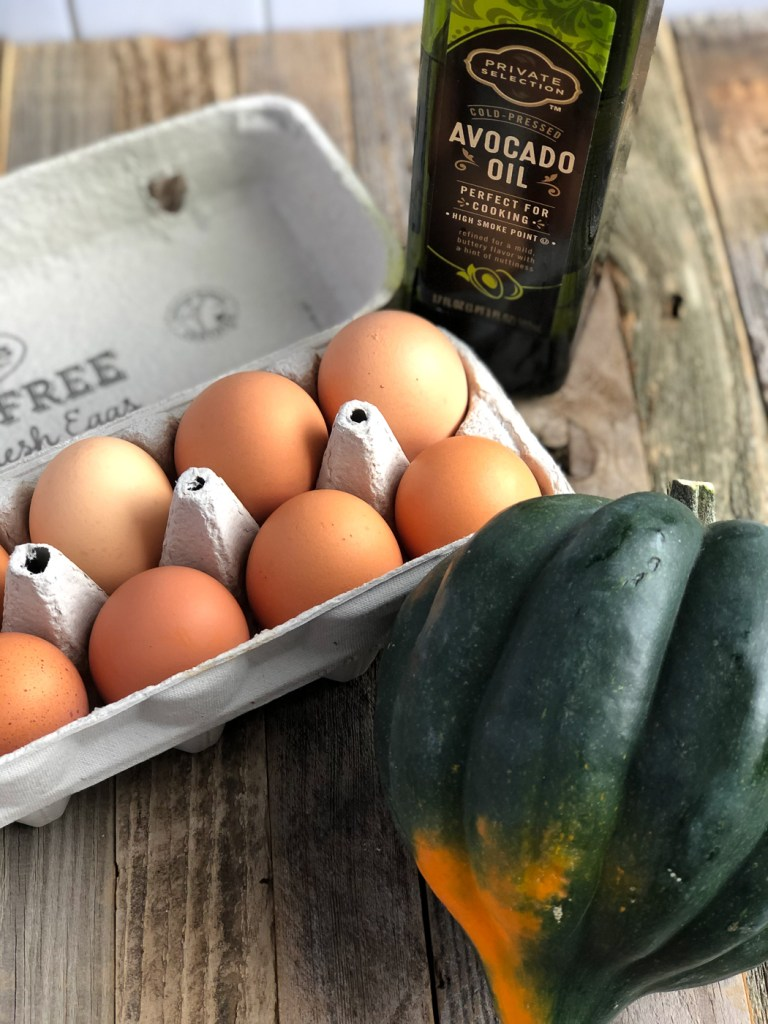 Acorn Squash Egg-In-A-Hole