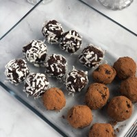 Mint Chocolate Hemp Seed Energy Bites