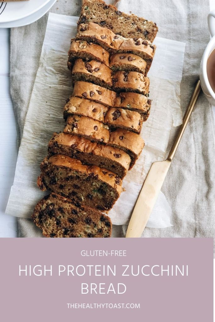 High-Protein Zucchini Bread