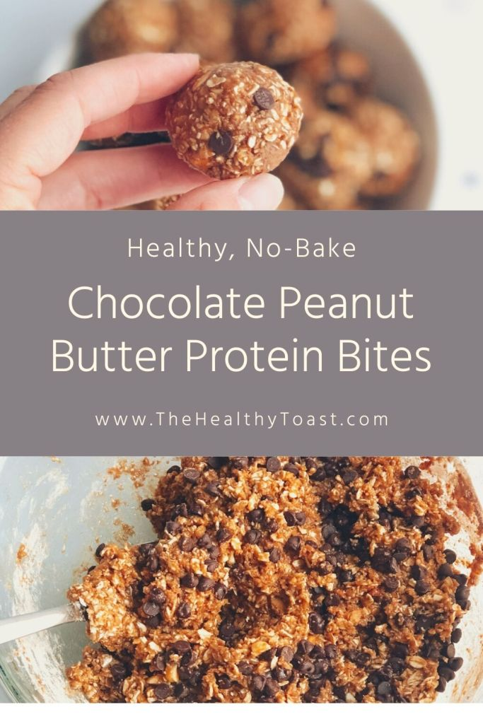 No-Bake Chocolate Peanut Butter Protein Ball Recipe