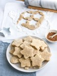 Plate of chai sugar cookies