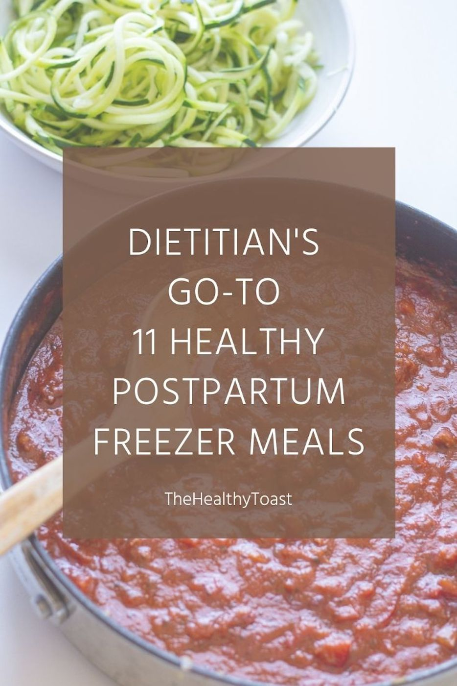 11 Healthy Postpartum Freezer Meals