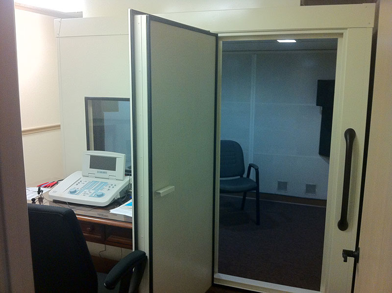 The Hearing and Balance Clinic Hearing Chamber